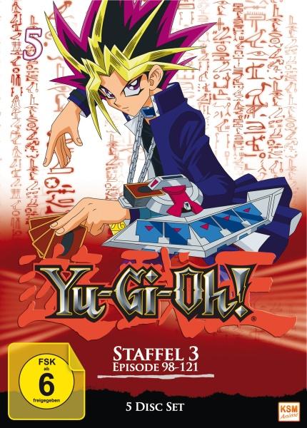 Yu-Gi-Oh! - Staffel 3.1: Episode 98-121 (5 DVDs)