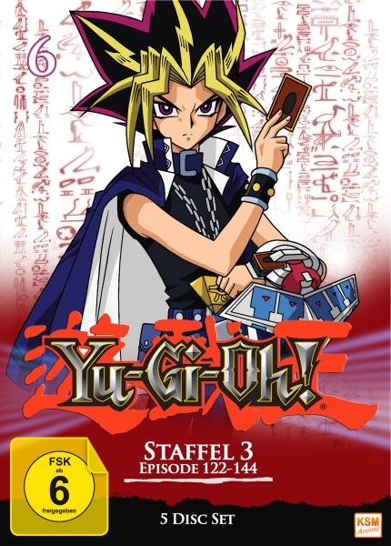 Yu-Gi-Oh! - Staffel 3.2: Episode 121-144 (5 DVDs)