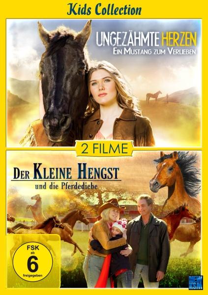 Kids Collection - Ungezähmte Herzen + Der kleine Hengst und die Pferdediebe - 2auf1 (DVD)