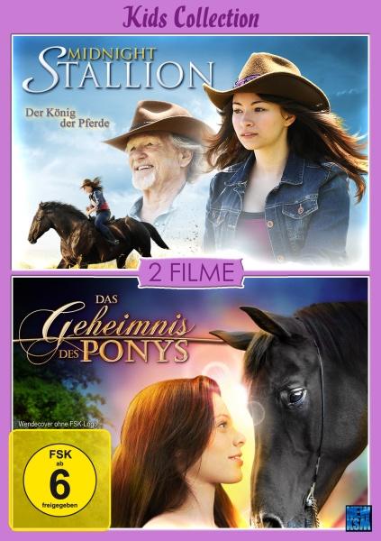 Kids Collection - Das Geheimnis des Ponys + Midnight Stallion - 2auf1 (DVD)