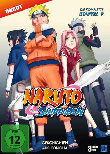 Naruto Shippuden - Geschichten aus Konoha - Staffel 09: Folge 396-416 (3 DVDs)