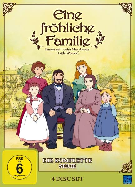 Eine fröhliche Familie - Gesamtedition (4 DVDs)