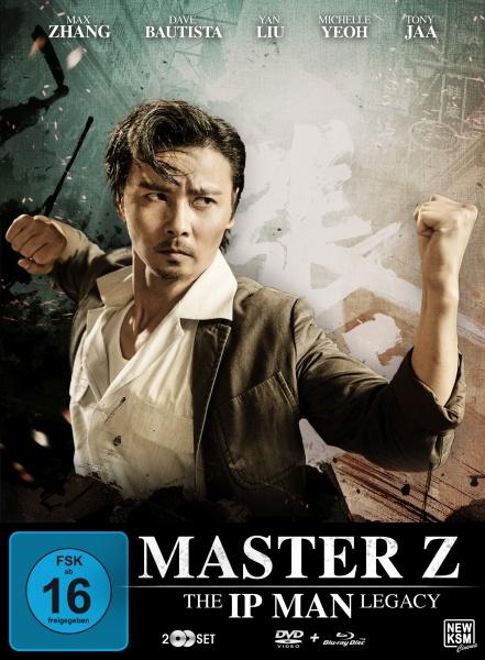 Master Z - The Ip Man Legacy Special Edition - Motiv C-Max (Blu-ray+DVD) (exkl. MSH)