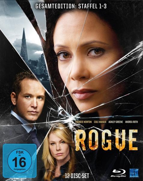 Rogue - Gesamtedition Staffel 1-3 (12 Blu-rays)