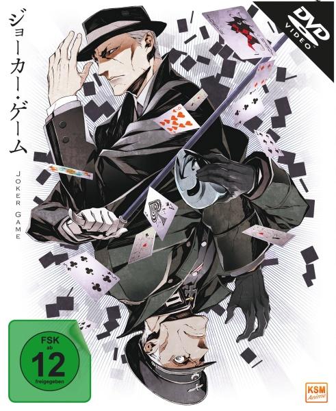 Joker Game - Gesamtedition - Episode 01-12 (3 DVDs)