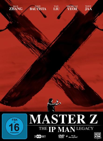 Master Z - The Ip Man Legacy Special Edition - Motiv A-Rot (Blu-ray+DVD) (exkl. Amazon)
