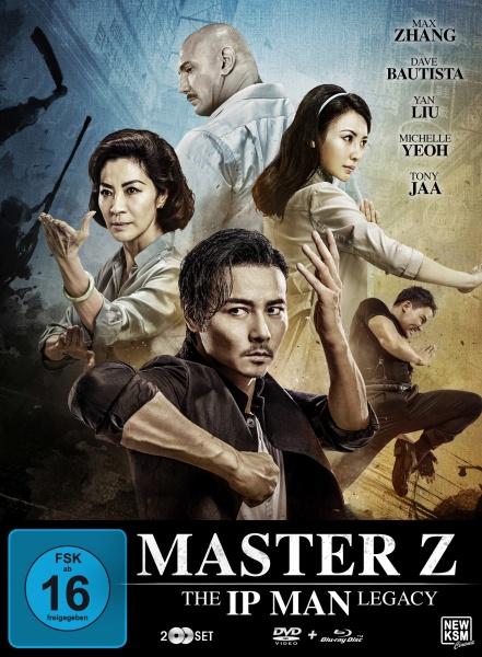 Master Z - The Ip Man Legacy Special Edition - Motiv B-Gruppe (Blu-ray+DVD) (exkl. MSH)