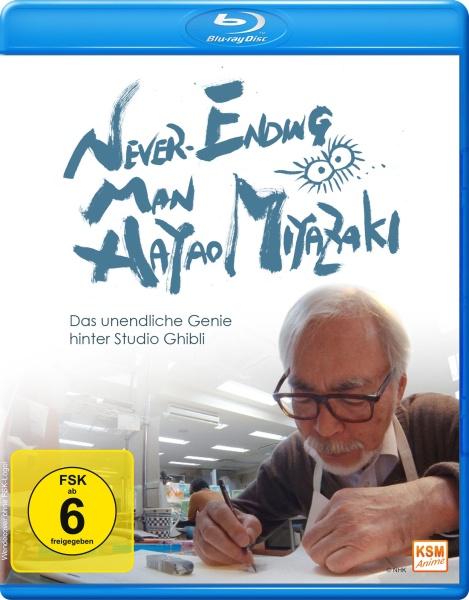 Never Ending Man - Hayao Miyazaki (Blu-ray)