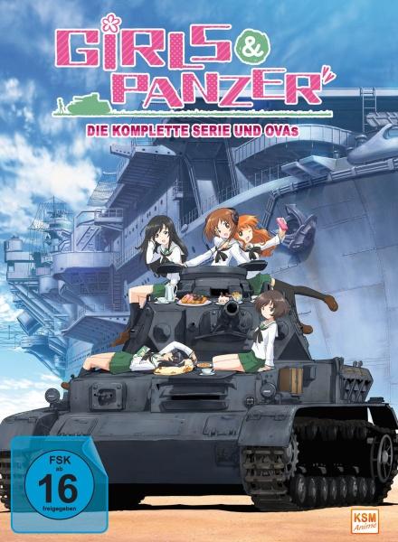 Girls und Panzer - Gesamtedition (4 DVDs)