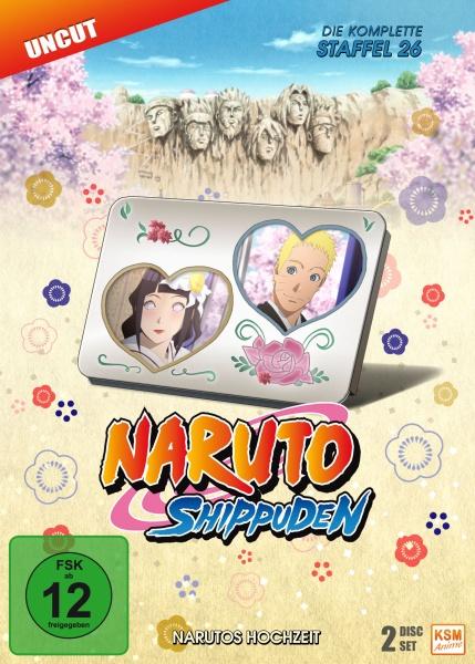 Naruto Shippuden - Narutos Hochzeit - Staffel 26: Episode 714-720 (2 DVDs)