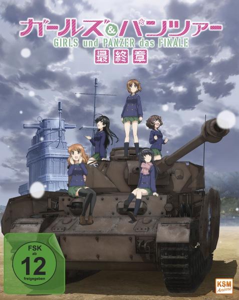 Girls und Panzer: Das Finale - Teil 1 - Limited Edition (Blu-ray)