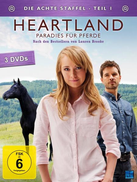 Heartland - Paradies für Pferde, Staffel 8.1 (3 DVDs)