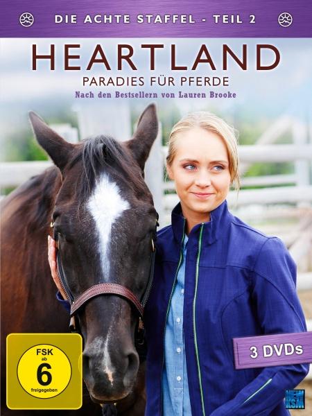 Heartland - Paradies für Pferde, Staffel 8.2 (3 DVDs)