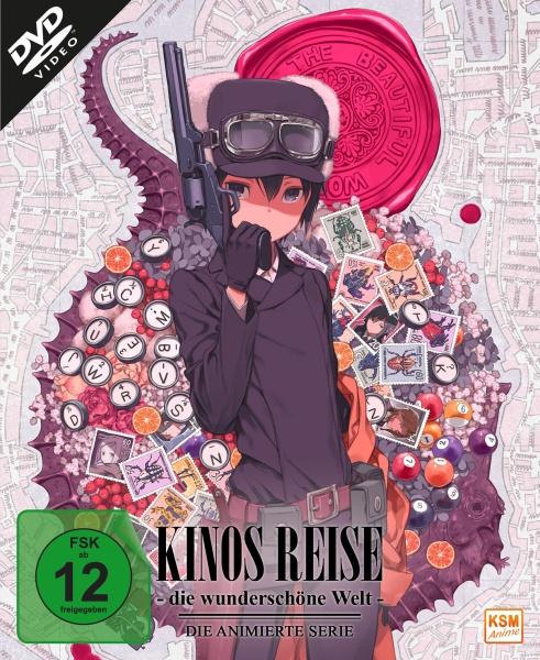 Kinos Reise - Die wunderschöne Welt - Gesamtedition: Episode 01-12 (3 DVDs)