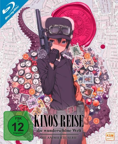 Kinos Reise - Die wunderschöne Welt - Gesamtedition: Episode 01-12 (3 Blu-rays)