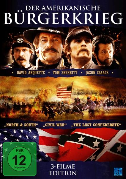Der amerikanische Bürgerkrieg - 3 Filme Edition (DVD)