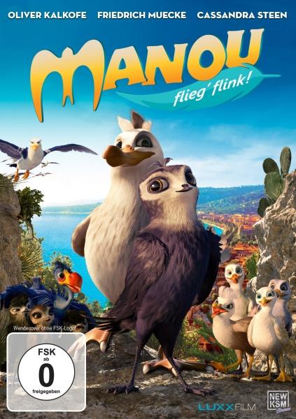 Manou - Flieg' flink! (DVD)