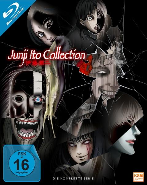 Junji Ito Collection - Gesamtedition: Episode 01-12 (3 Blu-rays)