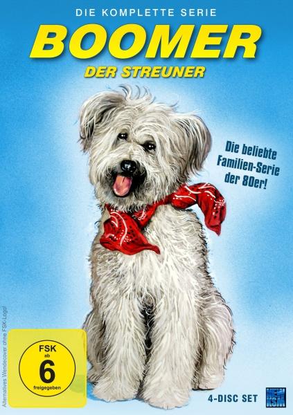 Boomer, der Streuner - Die komplette Serie (Pilotfolge + 22 Folgen) (4 DVDs)