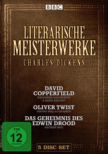 Literarische Meisterwerke - Charles Dickens 3 Filme Edition (5 DVDs)