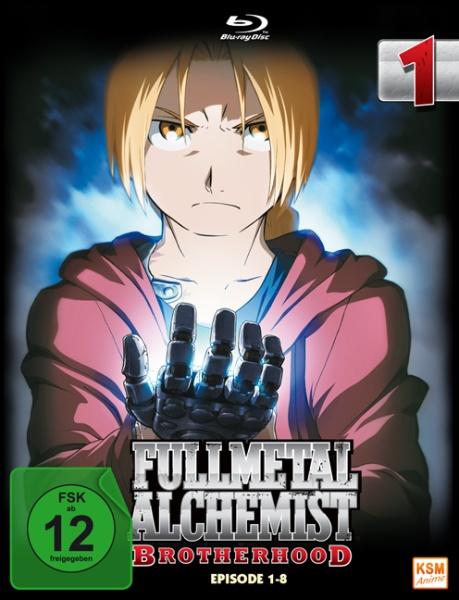 Fullmetal Alchemist: Brotherhood - Volume 1 - Folge 01-08 (Blu-ray)