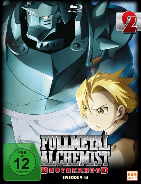 Fullmetal Alchemist: Brotherhood - Volume 2 - Folge 09-16 (Blu-ray)