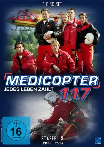 Medicopter 117 - Jedes Leben zählt - Staffel 3 - Episode 22-34 (4 DVDs)