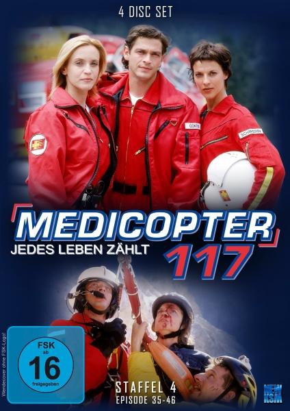 Medicopter 117 - Jedes Leben zählt - Staffel 4 - Episode 35-46 (4 DVDs)