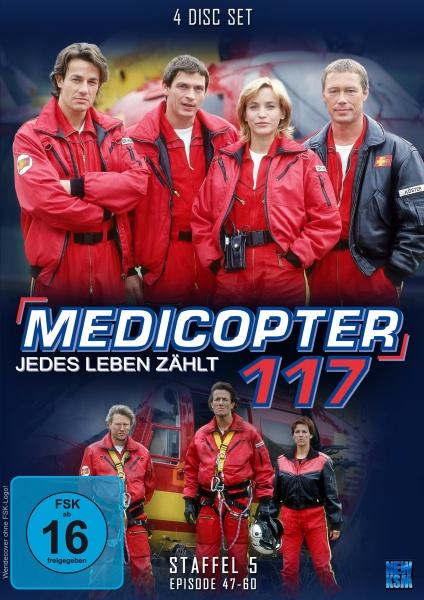 Medicopter 117 - Jedes Leben zählt - Staffel 5 - Episode 47-60 (4 DVDs)