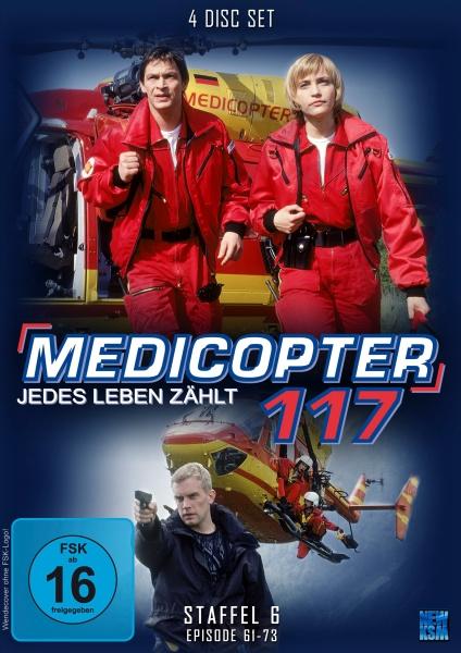 Medicopter 117 - Jedes Leben zählt - Staffel 6 - Episode 61-73 (4 DVDs)