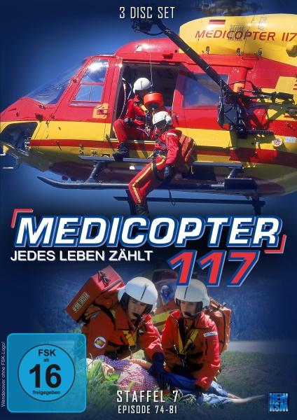 Medicopter 117 - Jedes Leben zählt - Staffel 7 - Episode 74-81 (3 DVDs)