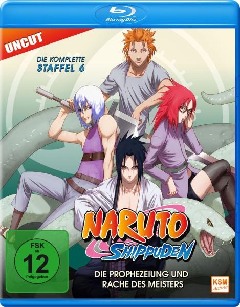 Naruto Shippuden - Die Prophezeiung und Rache des Meisters - Staffel 06: Folge 333-363 (Blu-ray)