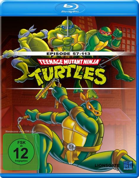 Teenage Mutant Ninja Turtles - Episode 057-113 (Blu-ray)