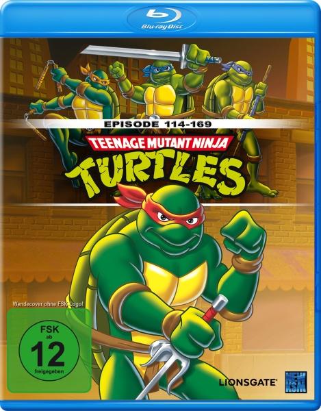 Teenage Mutant Ninja Turtles - Episode 114-169 (Blu-ray)