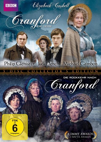 Cranford - Elizabeth Gaskell - Gesamtbox - Staffel 1+2 (5 DVDs)