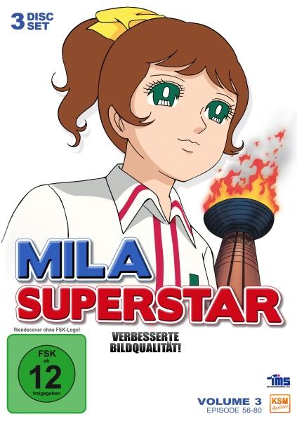 Mila Superstar - Volume 3: Episode 56-80 (3 DVDs)