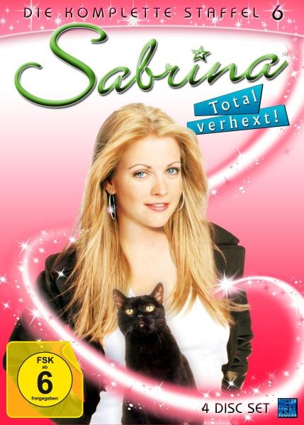 Sabrina - Total verhext! - Staffel 6 - Episode 120-141 (4 DVDs)