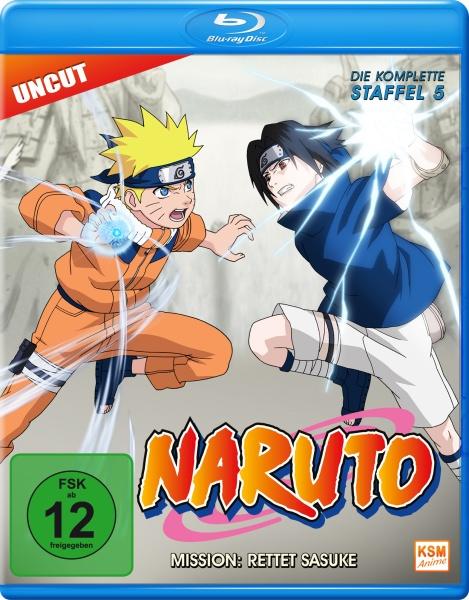 Naruto - Mission: Rettet Sasuke - Staffel 5: Folge 107-135 (Blu-ray)