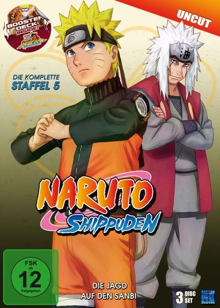 Naruto Shippuden - Die Jagd auf den Sanbi - Staffel 05: Folge 309-332 (3 DVDs)