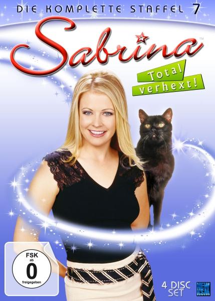 Sabrina - Total verhext! - Staffel 7 - Episode 142-163 (4 DVDs)
