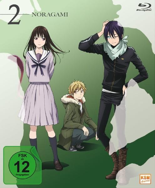 Noragami - Staffel 1, Volume 2: Folge 07-12 (Blu-ray)