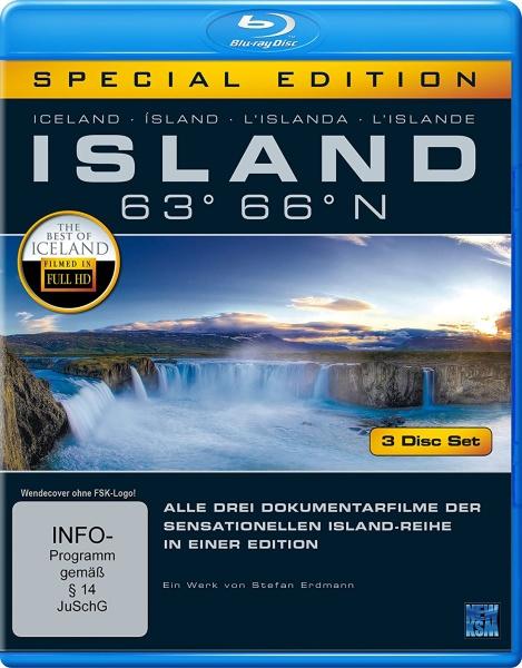 Island 63° 66° N - Gesamtbox (3 Blu-rays)