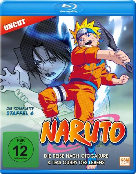 Naruto - Die Reise nach Otogakure & Das Curry des Lebens - Staffel 6: Folge 136-157 (Blu-ray)