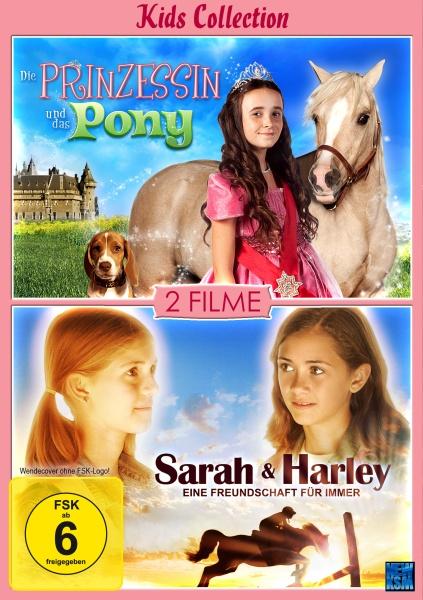 Kids Collection - Sarah und Harley + Die Prinzessin und das Pony 2auf1 (DVD)