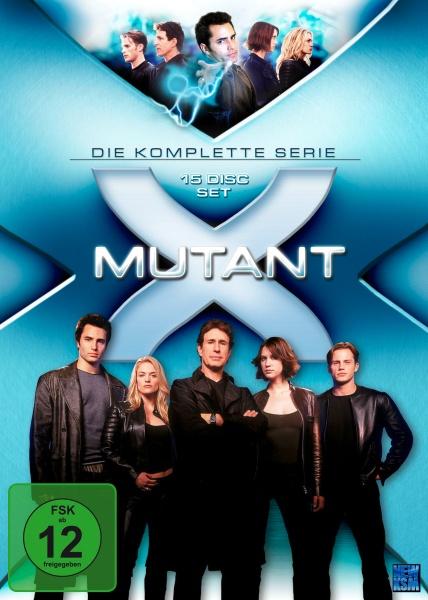 Mutant X - Gesamtbox - Folge 01-66 (15 DVDs)