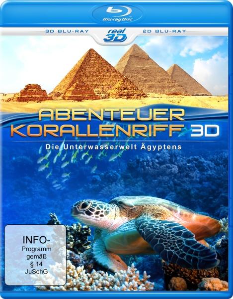 Abenteuer Korallenriff 3D - Die Unterwasserwelt Ägyptens (3D Blu-ray)