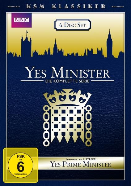 Yes Minister /Yes, Prime Minister - KSM Klassiker (6 DVDs)