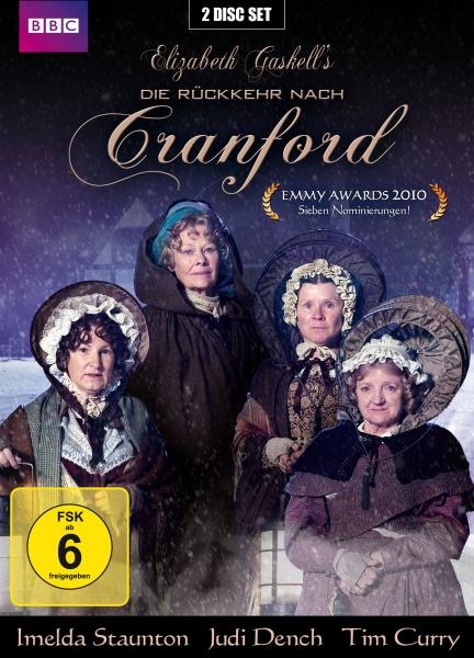 Die Rückkehr nach Cranford - Return to Cranford Elizabeth Gaskell (2 DVDs)