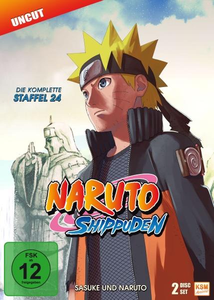 Naruto Shippuden - Sasuke und Naruto - Staffel 24: Episode 690-699 (2 DVDs)