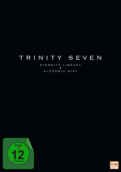 Trinity Seven - Eternity Library and Alchemie Girl - The Movie (DVD)